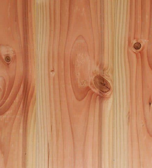 Bardage bois pin douglas