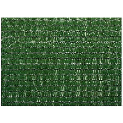 Brise vue 150 cm vert foncé